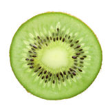 A fatia Kiwi Fruit isolou-se Foto de Stock Royalty Free