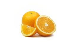 Fatias alaranjadas do fruto Imagem de Stock