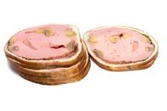 Fatias da carne Foto de Stock Royalty Free