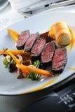 Fatias da carne do Succulent imagem de stock