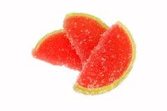 Fatias da geléia de fruta Foto de Stock Royalty Free
