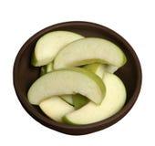 fatias da maçã imagens de stock royalty free