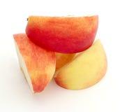 Fatias da maçã Fotos de Stock