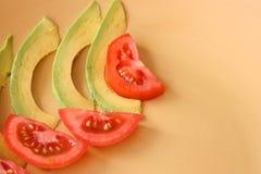 Fatias da salada imagem de stock royalty free
