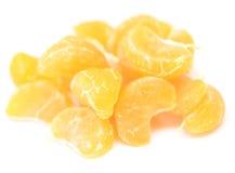 Fatias da tangerina Imagens de Stock Royalty Free