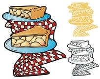Fatias da torta Fotos de Stock