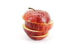 Fatias de Apple Imagens de Stock Royalty Free