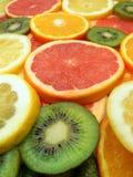 Fatias de frutas Imagens de Stock Royalty Free