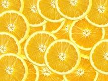 Fatias de laranjas Fotografia de Stock