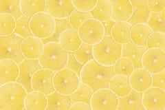 Fatias de limão Imagens de Stock