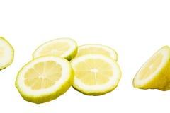 Fatias de limão fotografia de stock