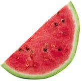 Fatias de melancia no fundo branco Fotografia de Stock Royalty Free