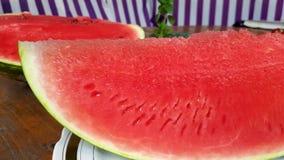Fatias de melancia vermelha filme