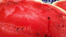 Fatias de melancia vermelha vídeos de arquivo