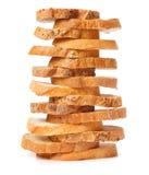 Fatias de pão Fotos de Stock