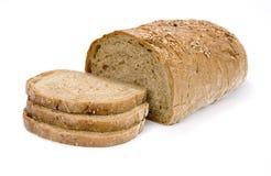 Fatias de pão do celeiro Imagem de Stock Royalty Free
