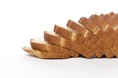 Fatias de pão do trigo Imagem de Stock