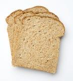 Fatias de pão marrom Fotos de Stock Royalty Free