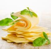 Fatias de queijo Imagem de Stock