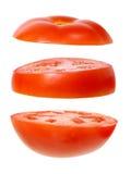 Fatias de tomate Imagens de Stock Royalty Free