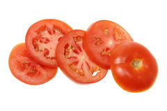 Fatias de tomate Foto de Stock Royalty Free