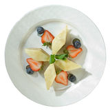 Fatias de torta de maçã Imagem de Stock Royalty Free