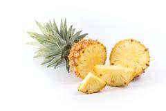 Fatias do abacaxi imagens de stock
