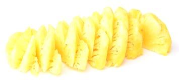 Fatias do abacaxi Imagem de Stock
