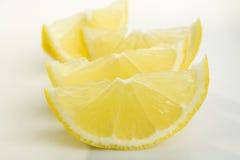 Fatias do limão Foto de Stock