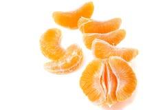 Fatias do mandarino Imagem de Stock