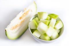 Fatias do melão de inverno Foto de Stock