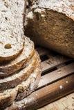 Fatias do pão feito home Imagens de Stock