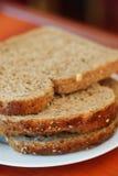 Fatias do pão fresco Imagem de Stock