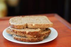 Fatias do pão fresco Imagem de Stock Royalty Free