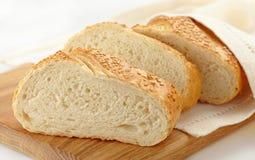 Fatias do pão Imagens de Stock