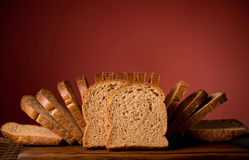 Fatias do pão Fotos de Stock