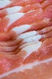 Fatias frescas da barriga de carne de porco Imagens de Stock Royalty Free