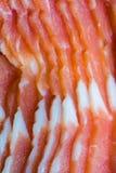 Fatias frescas da carne de porco Imagens de Stock Royalty Free