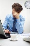 Fatigué du travail photo libre de droits