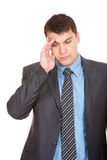 Fatigue male Royalty Free Stock Photography