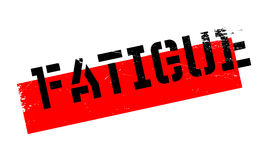 Fatigue rubber stamp Stock Images