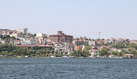 Fatih district in Istanbul City Royalty Free Stock Images