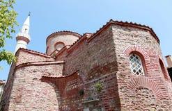 Fatih Moschee in Tirilye, Mudanya. lizenzfreies stockbild