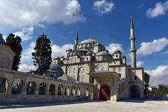 Fatih mosque. With cloudy sky Royalty Free Stock Photography