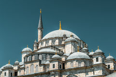 The Fatih Mosque (Conqueror's Mosque) in Istanbul Stock Images