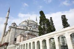 Fatih Mosque in distretto di Costantinopoli, Turchia Fotografie Stock