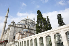 Fatih Mosque in district of Istanbul, Turkey Stock Photos