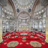Fatih Mosque in district of Istanbul, Turkey Royalty Free Stock Images