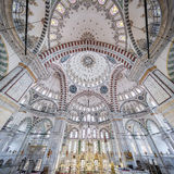 Fatih Mosque in district of Istanbul, Turkey Royalty Free Stock Photo