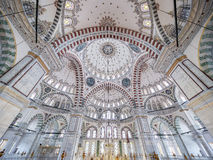 Fatih Mosque in district of Istanbul, Turkey Stock Image